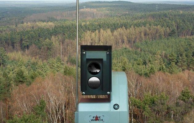 Waldbrandüberwachung